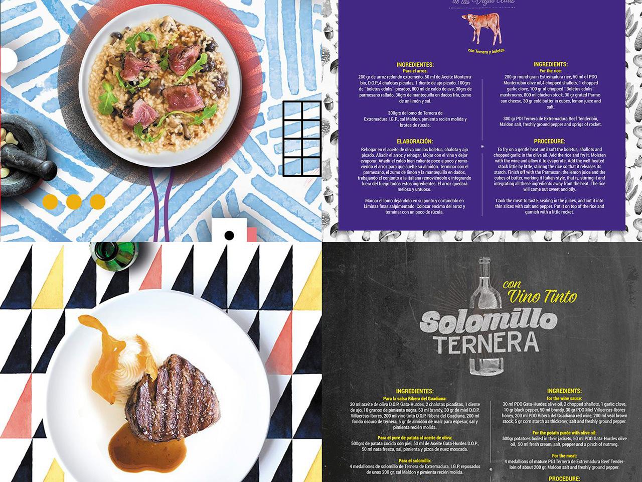 Recetario Alimentos de Extremadura