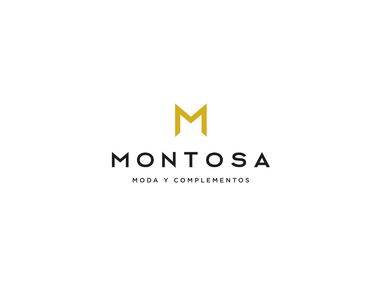 Logotipo Montosa Moda y Complementos