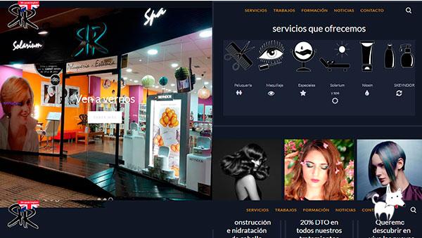 Diseño web para salón de peluquería en Cáceres