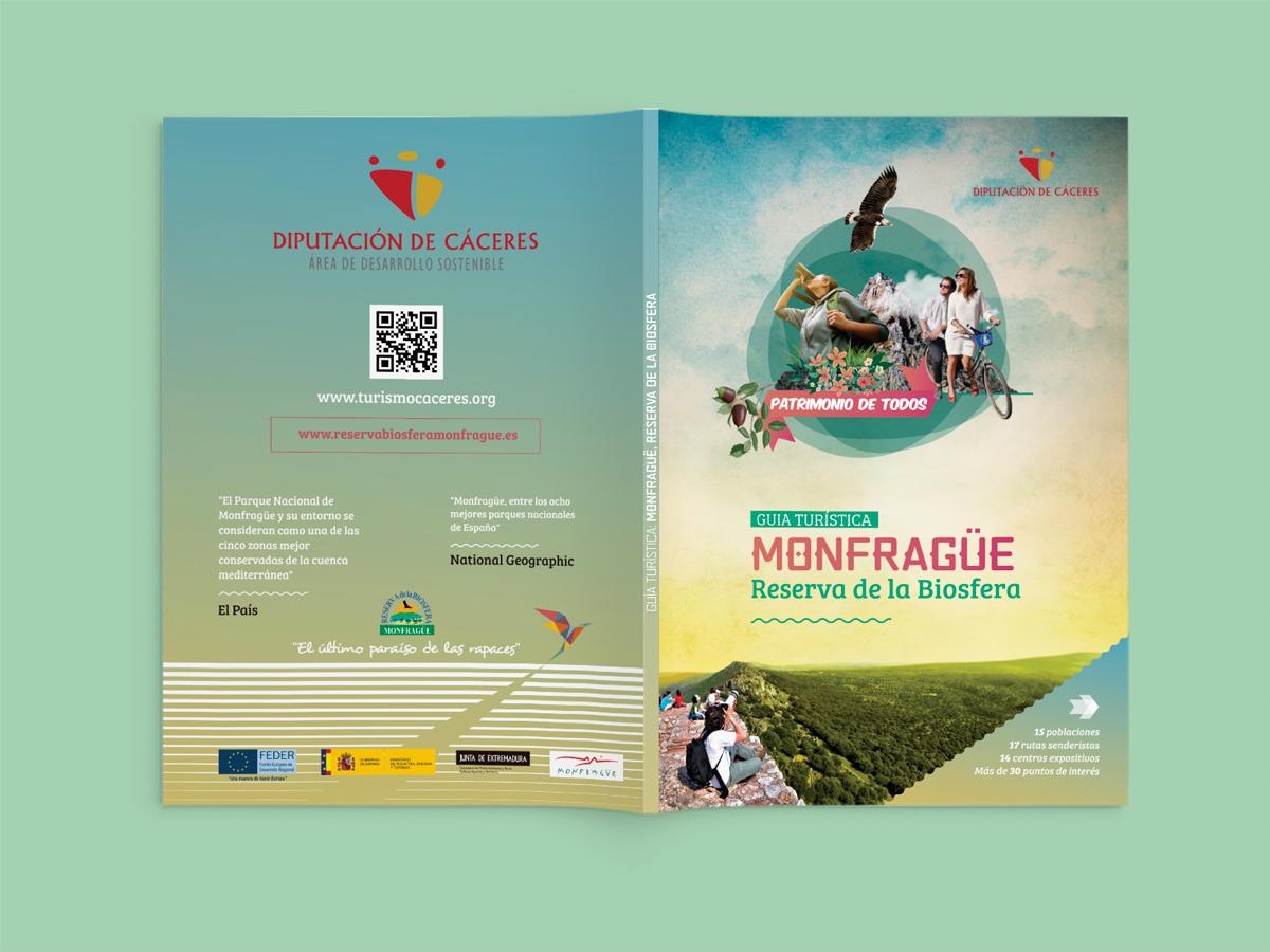 Material promocional Reserva de la Biosfera de Monfragüe